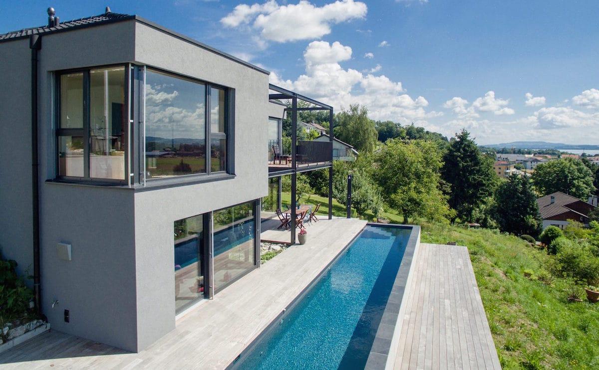 terrasse en bois avec entourage piscine et escalier 4 as menuiserie. Black Bedroom Furniture Sets. Home Design Ideas
