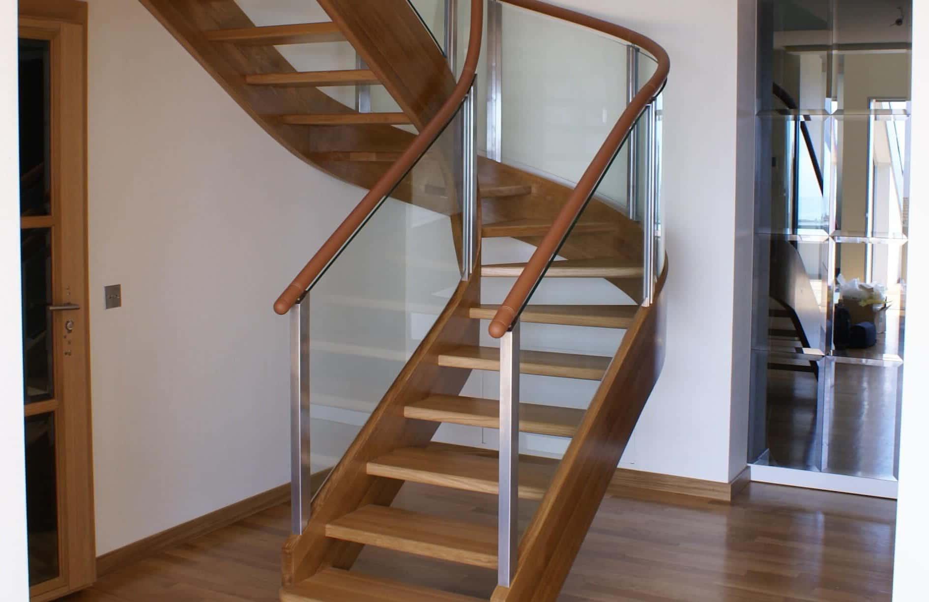 Escalier intérieur bois en chêne