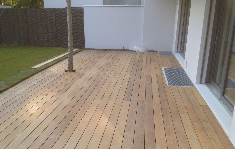 terrasse complete en bois Ipé à Coppet