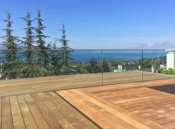 Balcon terrasse en bois Pully 4