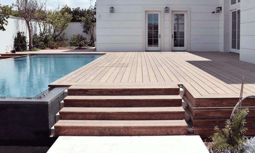 Accoya bois pour terrasse